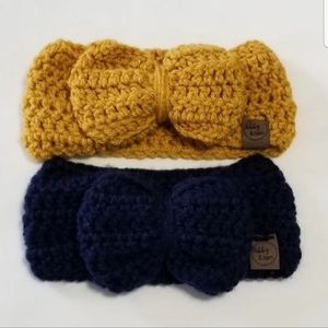 Other - Baby girl Handmade Crochet bow headbands